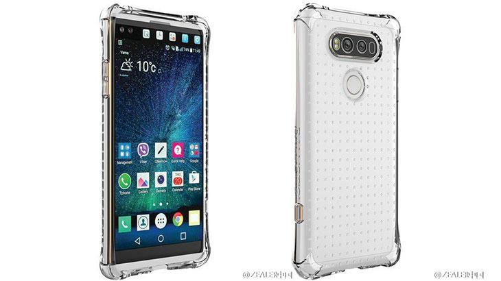 Foto: Pogledajte kako će izgledati LG V20