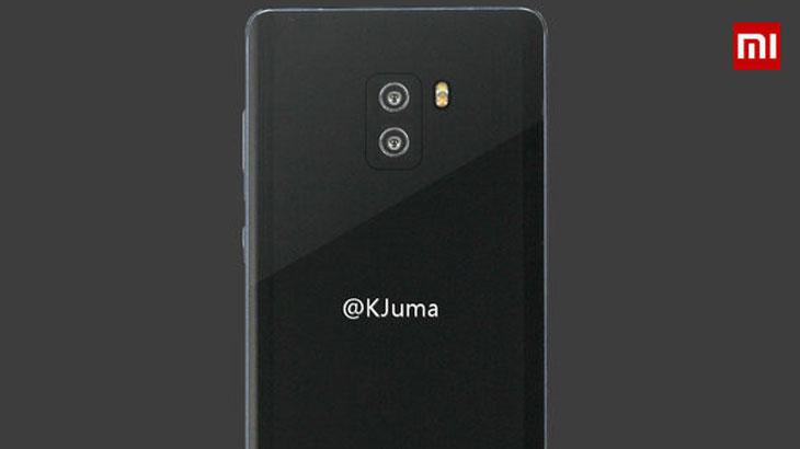 Prvi renderi pokazuju kako bi trebao izgledati Xiaomi Mi Note 2 straga
